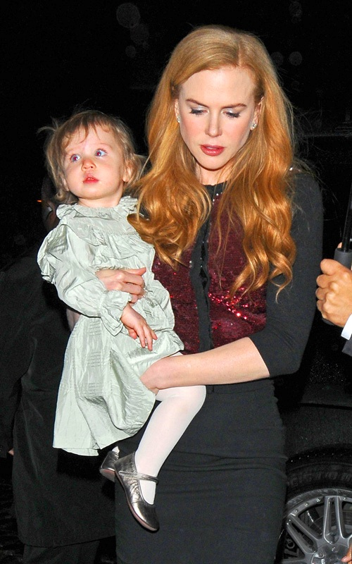 Nicole Kidman�s Night Out with Sunday Rose