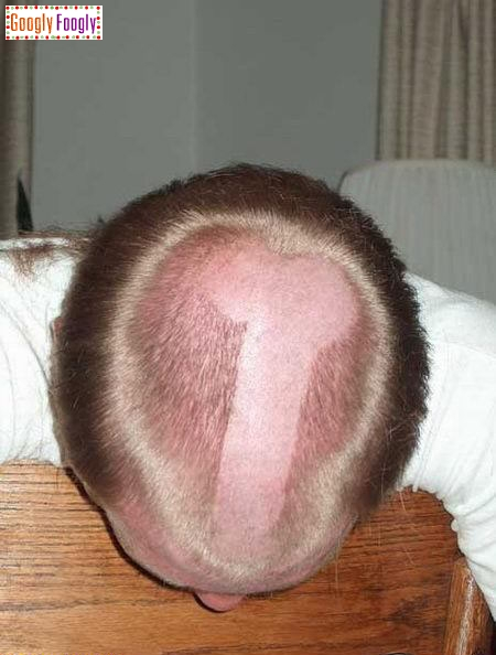 This hairstyle is very popular at high schools.
